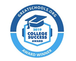 GreatSchools.org College Success Award 2019