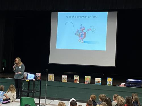 Explorer Elementary Author Visit, 2020