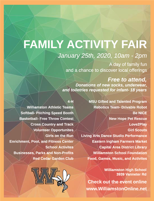 Family Fair Flyer