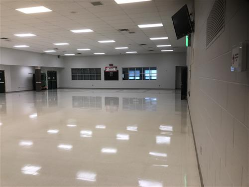Repainted Cafeteria at WMS