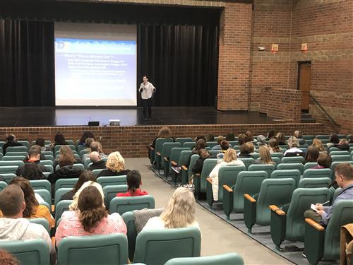 Seminar on Student Trauma At Williamston High School