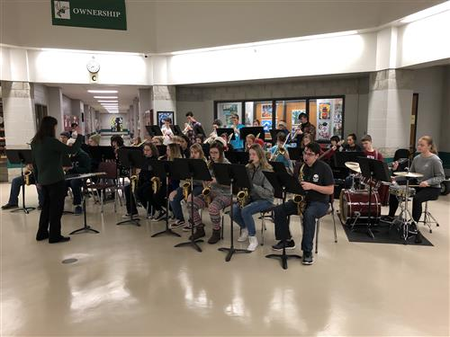 Jazz Band in the Dome